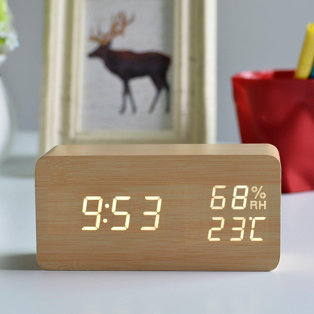 LEDデジタル置時計
