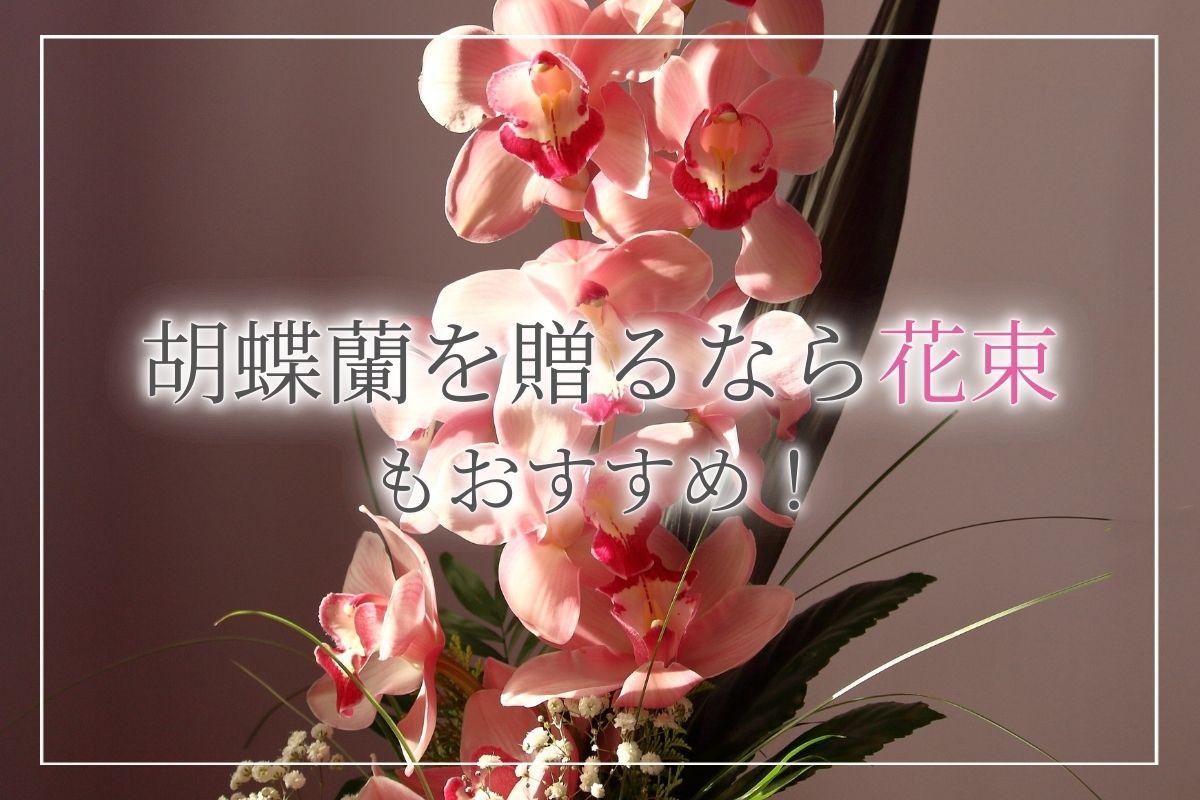 胡蝶蘭を贈るなら花束もおすすめ!贈る際のマナーやおすすめのシーンのほか、オーダー注文する際のポイントについて紹介!