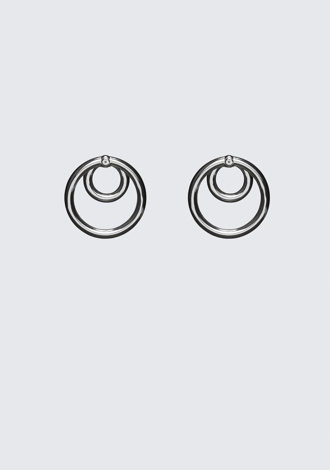 【Alexander Wang】DOUBLE O-RING EARRINGS