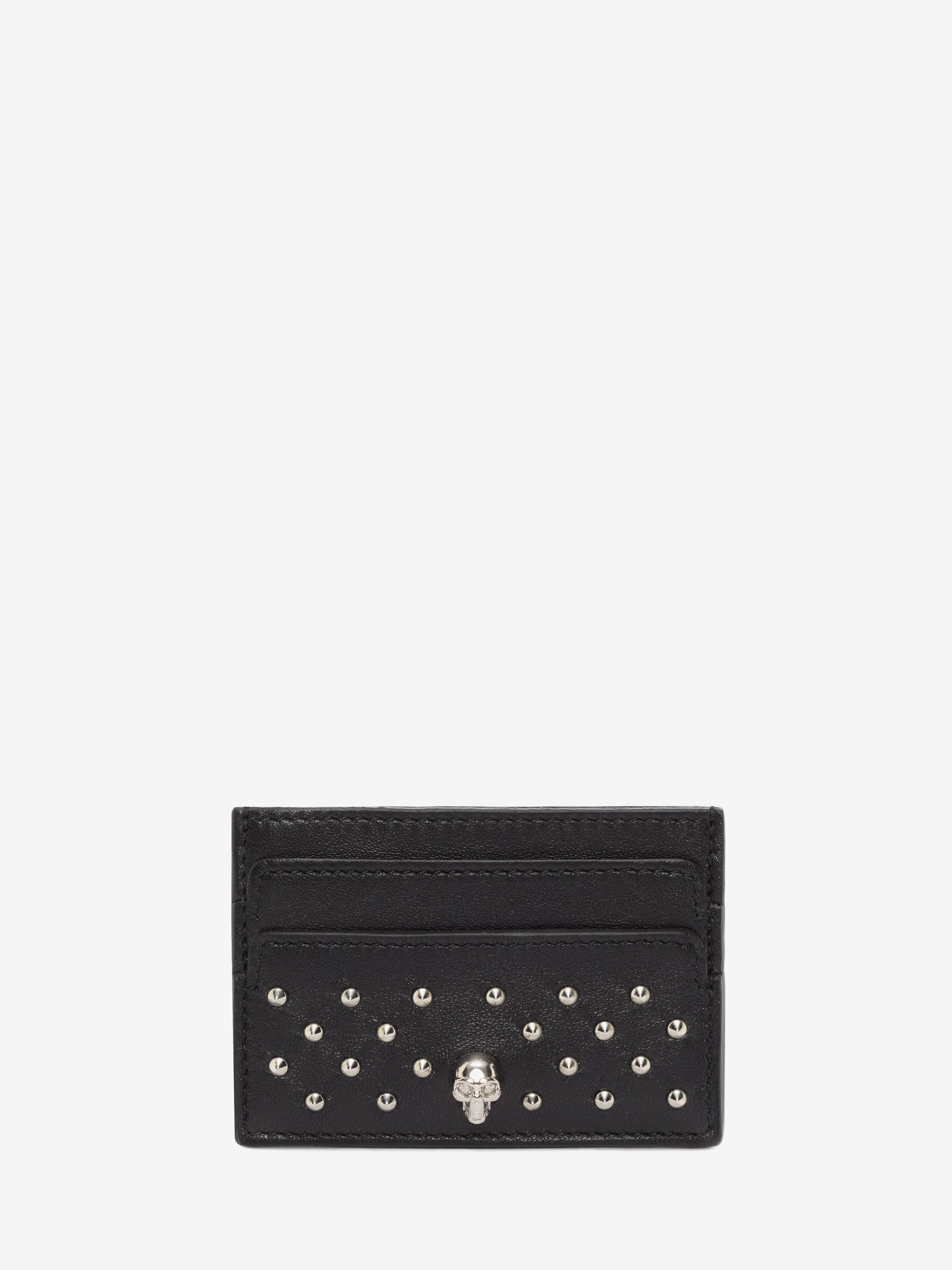 【Alexander McQueen】STUDDED CARD HOLDER