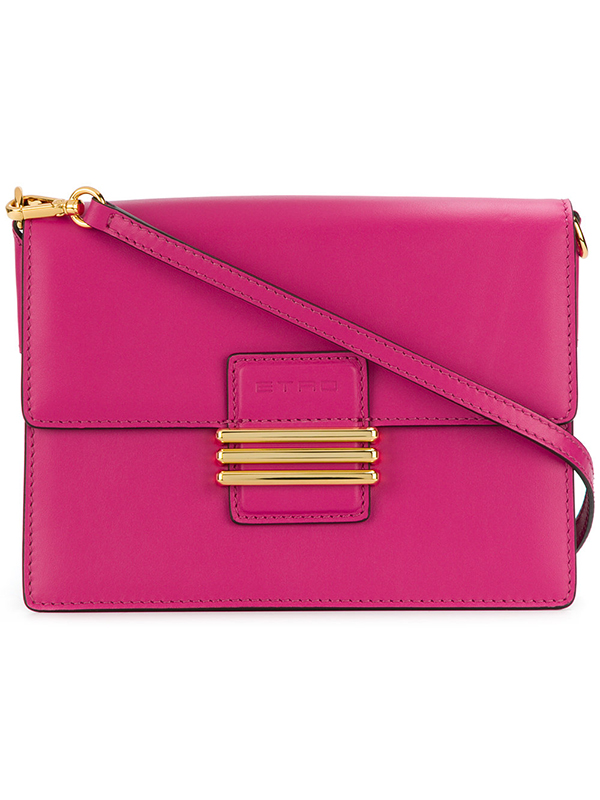 【ETRO】Pink mini rainbow crossbody bag