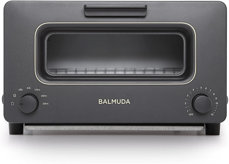 【バルミューダ】スチームオーブントースター BALMUDA The Toaster(ブラック)