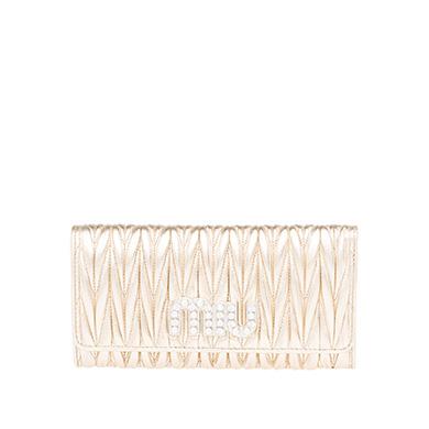 【MIU MIU】「マテラッセ」レザー 財布