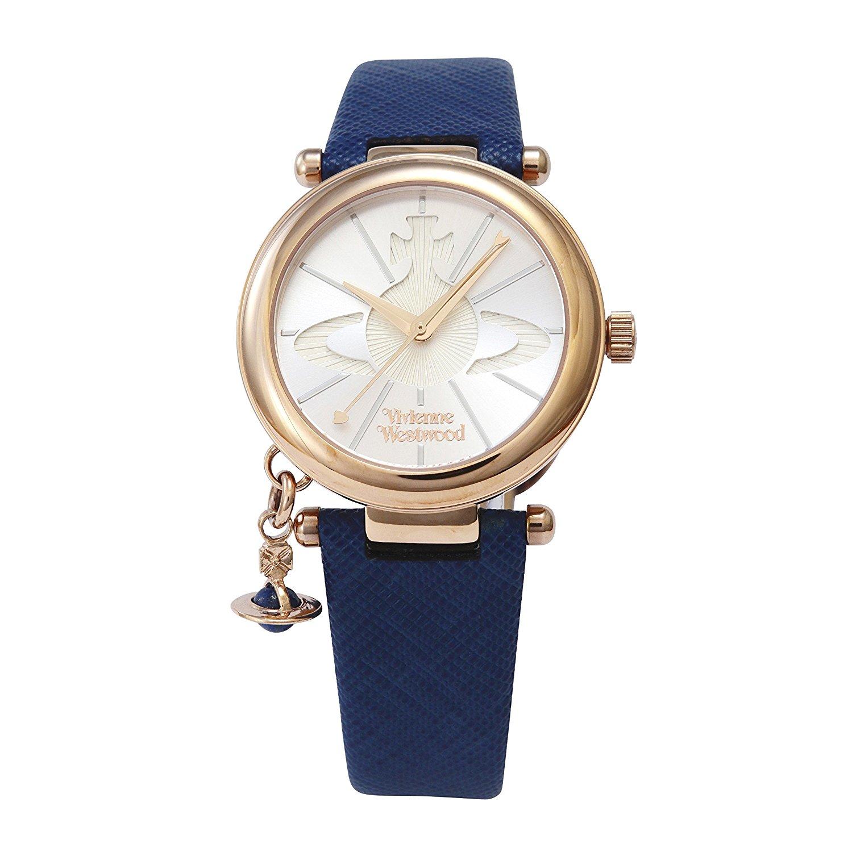 【Vivienne Westwood】 腕時計  シルバー文字盤 クォーツ お揃いがおすすめ
