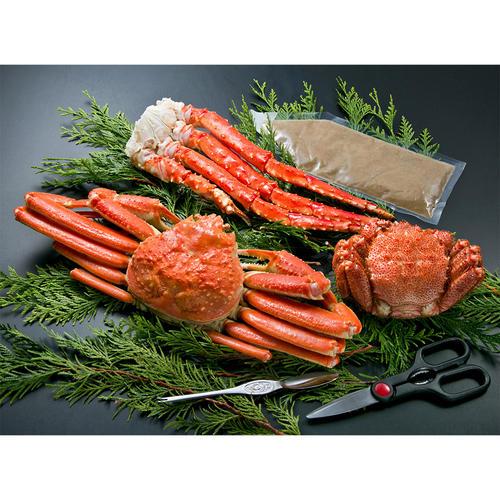 特大3大蟹セット(カニミソ付き)
