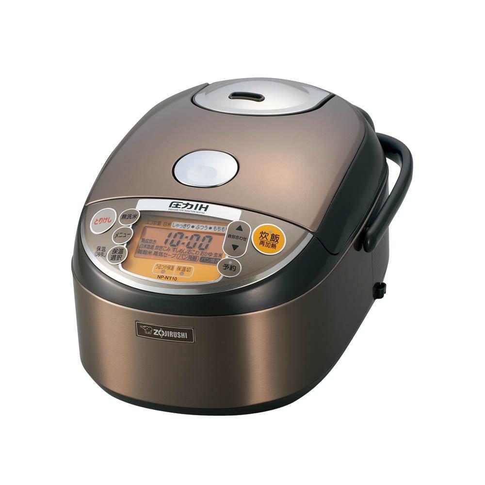 炊飯器 圧力IH式 5.5合 ステンレスブラウン【象印マホービン (ZOJIRUSHI) 】