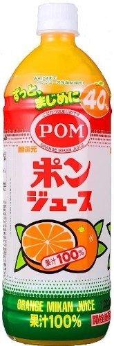 えひめ飲料 POM(ポン) ポンジュース 1L ペットボトル×6本入