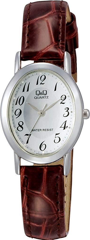 【CITIZEN Q&Q 】腕時計  アナログ表示 3気圧防水 シルバー