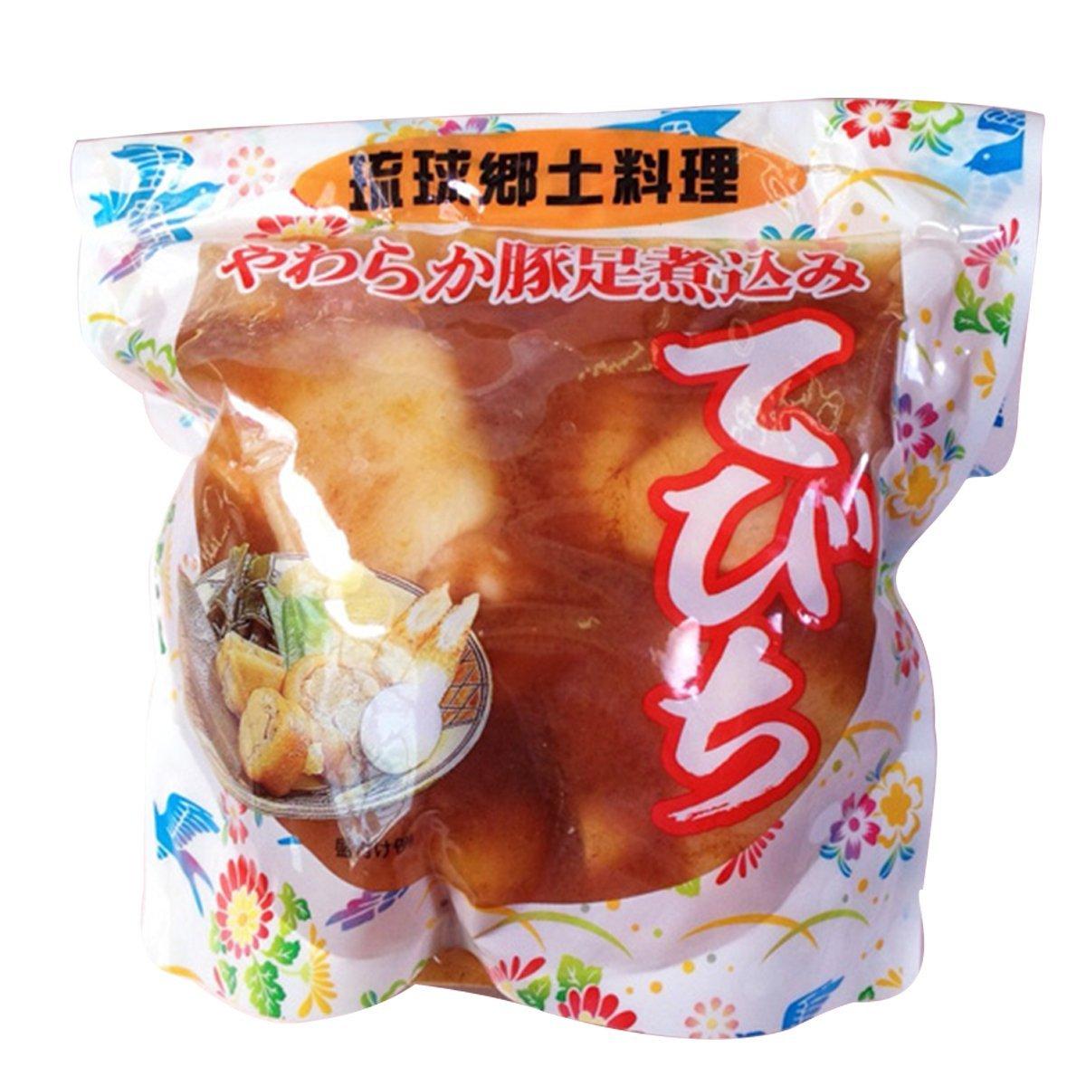 琉球郷土料理 てびち(豚足煮込み) 600g×2袋
