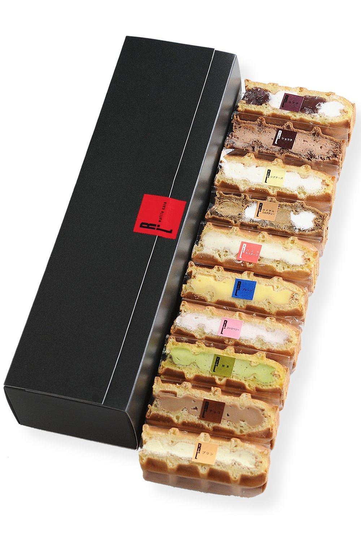 エール・エル 季節のワッフルケーキ 冷凍タイプ 10個入り 詰め合わせ
