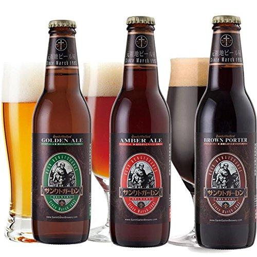 金賞地ビール 3種 330ml×3本 飲み比べセット