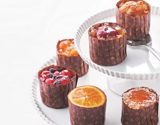 ホシフルーツ フレンチカップケーキ 4個