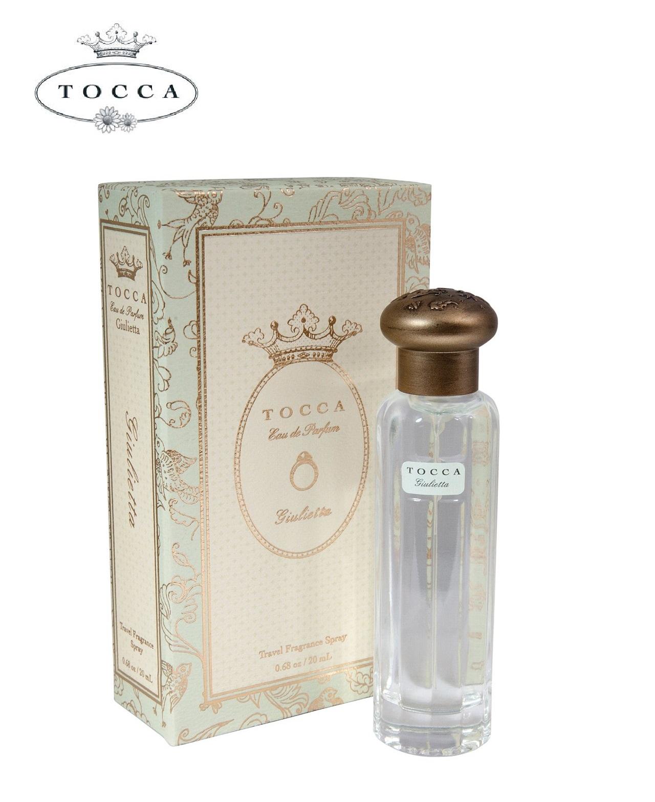 【TOCCA】トラベルフレグランススプレー ジュリエッタの香り 20ml