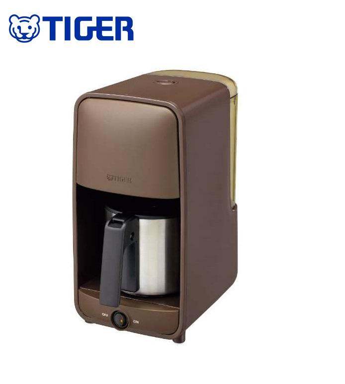 【タイガー】 コーヒーメーカー ダークブラウン
