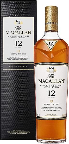 シングルモルト ウイスキー ザ マッカラン 12年 イギリス 700ml