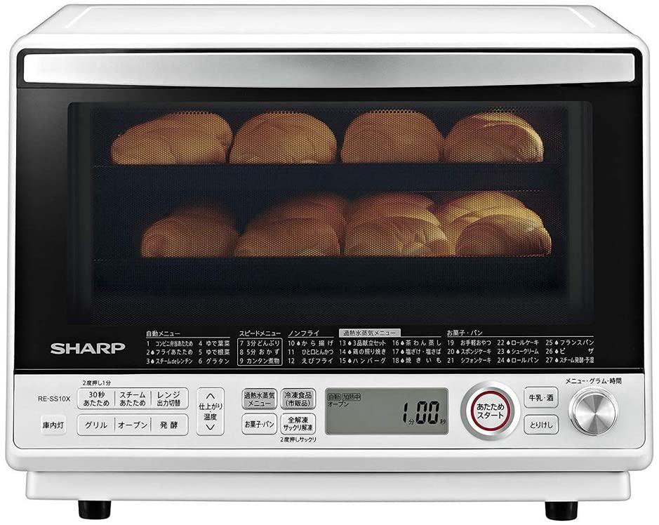 シャープ 過熱水蒸気2段オーブンレンジ WH