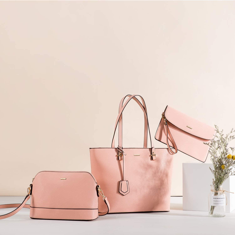 【LOVEVOOK】レディースバッグ 3点 ピンク