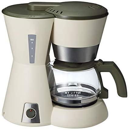 【BRUNO】ブルーノ 4 カップ コーヒーメーカー My Little シリーズ(ベージュ)