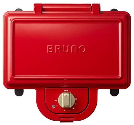 BRUNO ホットサンドメーカー 耳まで焼ける ダブル R