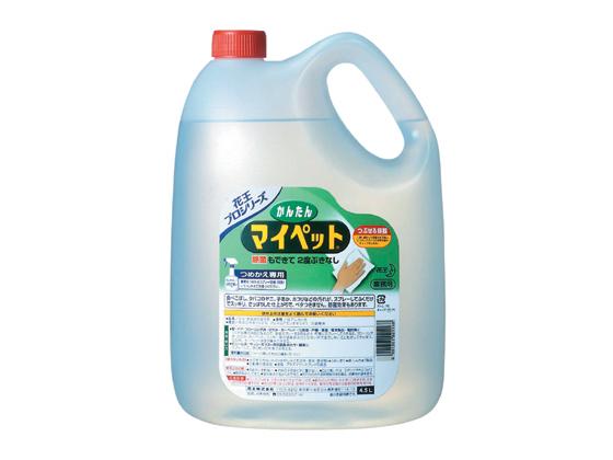 かんたんマイペット 4.5L 4本 【KAO】