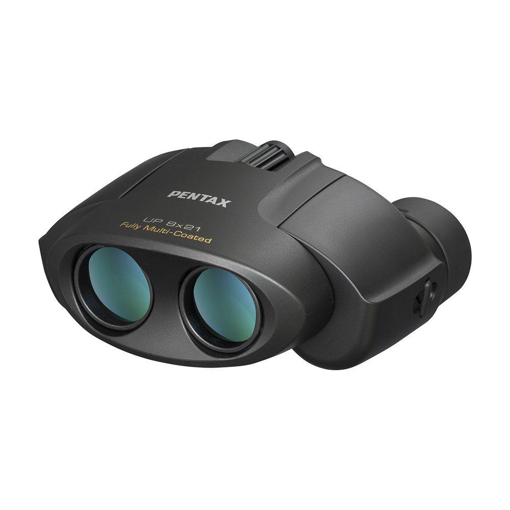 双眼鏡 UP 8×21 ブラック ポロプリズム【PENTAX】