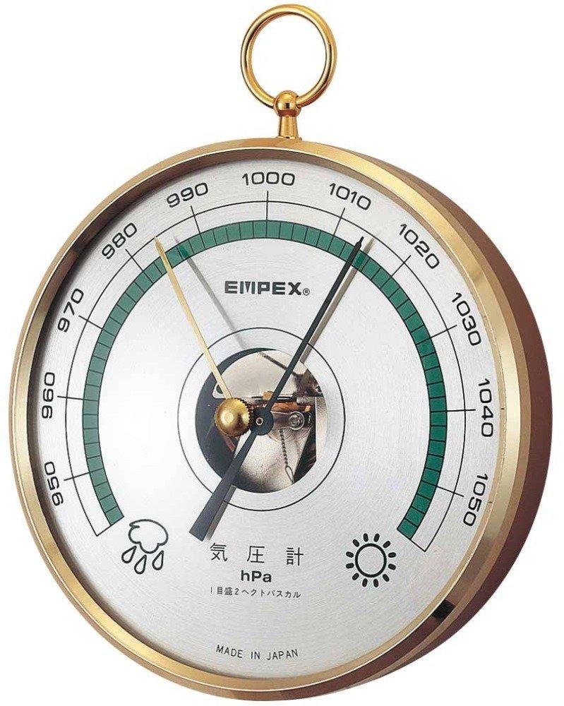 BAROMETER  予報官(気圧計) 【EMPEX (エンペックス)】