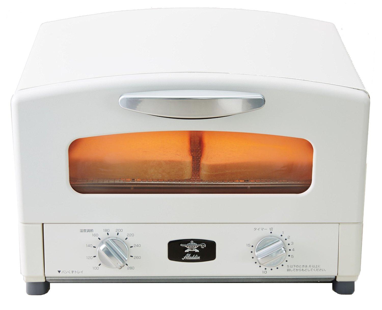 【Aladdin】グリル&トースター(ホワイト)