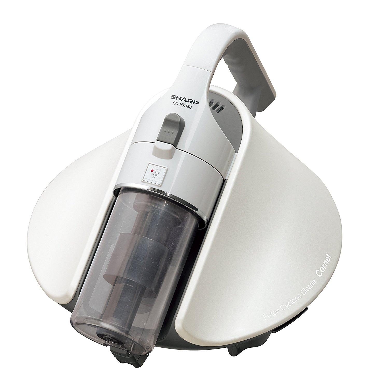 シャープ サイクロン ふとん掃除機 プラズマクラスター搭載 ホワイト