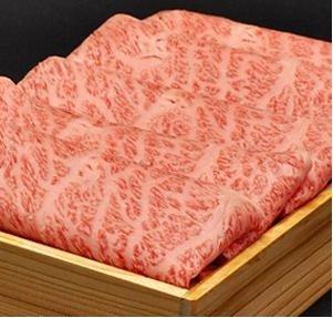 松阪牛木箱入り すき焼き肉 600g