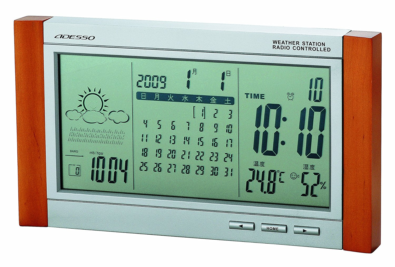【ADESSO】目覚まし時計 デジタル