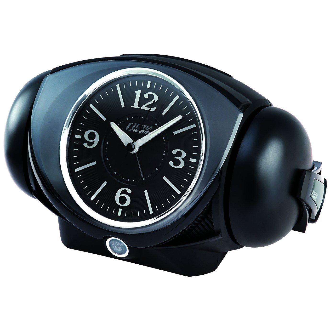 【SEIKO】大音量目覚まし時計 アナログ(ブラック)