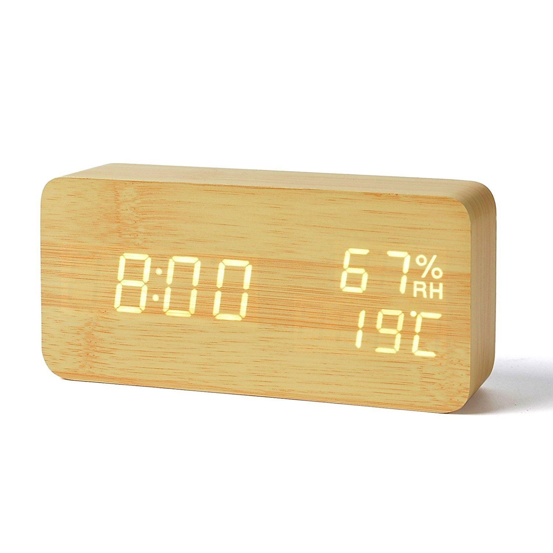 LEDデジタル 置き時計
