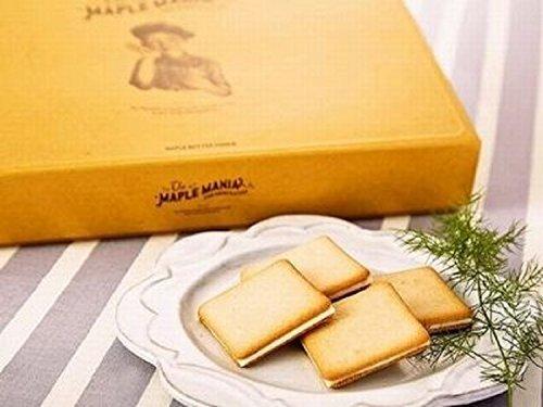 【ザ・メープルマニア】メープルバタークッキー