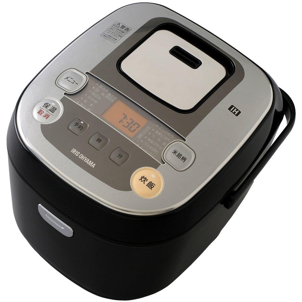 アイリスオーヤマ 炊飯器 IH式 1升 銘柄炊き分け機能付き